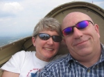 Sailplane flying, Stowe, Vermont, USA