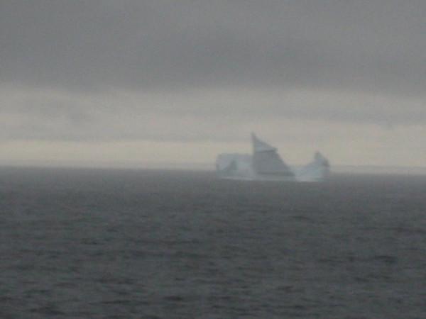 Iceberg on the way to Newfoundland