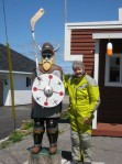 Port Aux Choix Viking Hockey Player