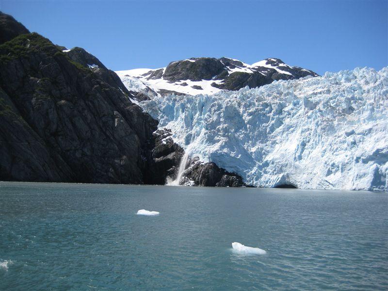 Holgate Glacier Chunks Falling