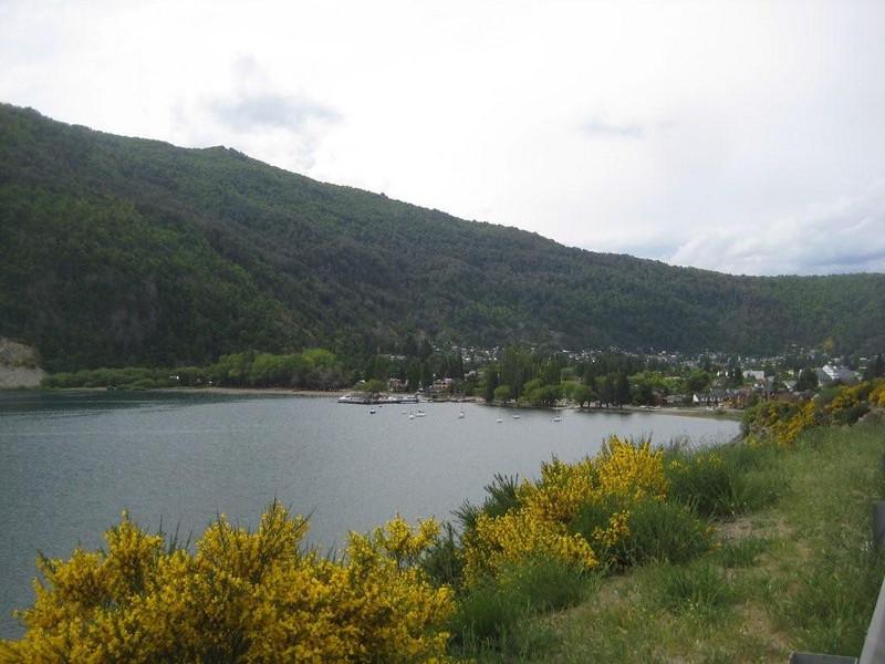The town of San Martin de Los Andes