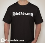R2adv front of shirt
