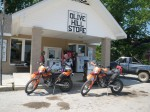 The Olive Hill Store where two early teenagers were the proprietors for the day.