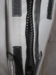 Roadcrafter Light main entry zipper.
