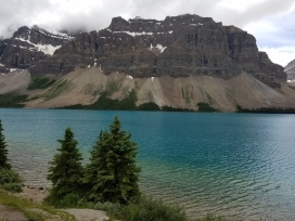 Lake on the Icefields Parkway, British Columbia