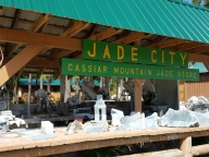 Jade City where an active Jade mine still operates.