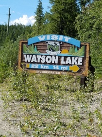 Heading to Watson Lake
