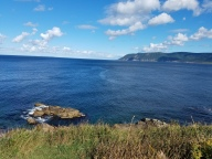 The view of the Atlantic from Meat Cove