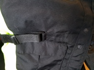Waist cinch strap