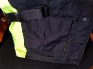 Front waist cinch strap